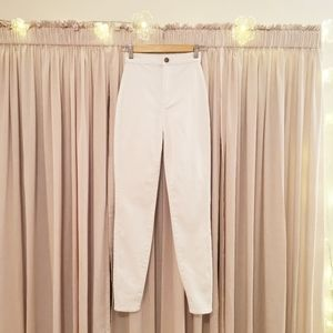 Fashion Nova White High Rise Jeans